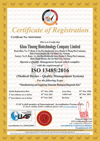ISO13485-UAF